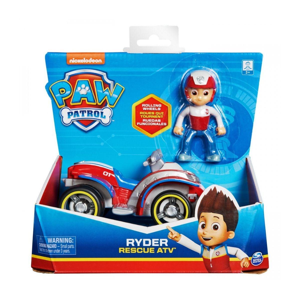 Masinuta cu figurina Paw Patrol, Ryder, 20127846
