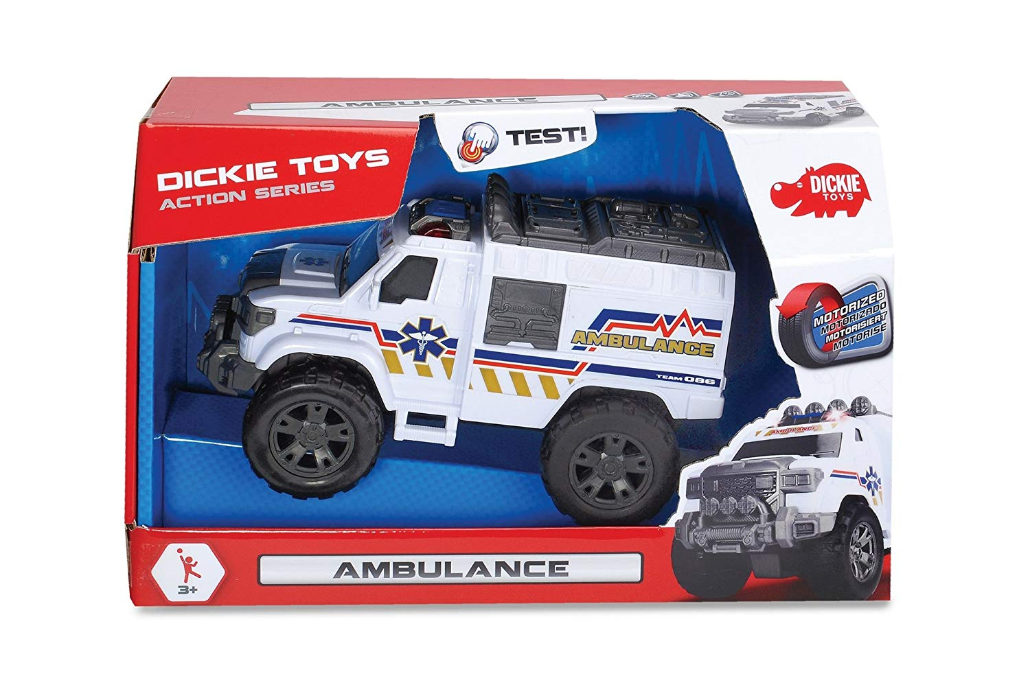 Masinuta de ambulanta Dickie Toys Ambulance imagine