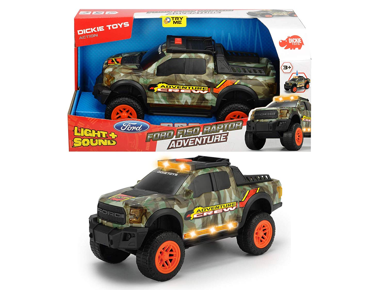 Masinuta de jucarie Dickie Toys Ford F150 Raptor Adventure