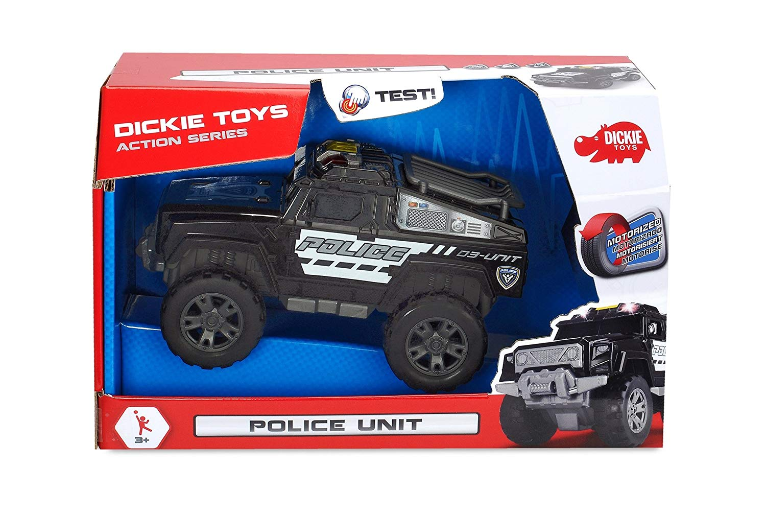 Masinuta de politie Dickie Toys Police Unit imagine
