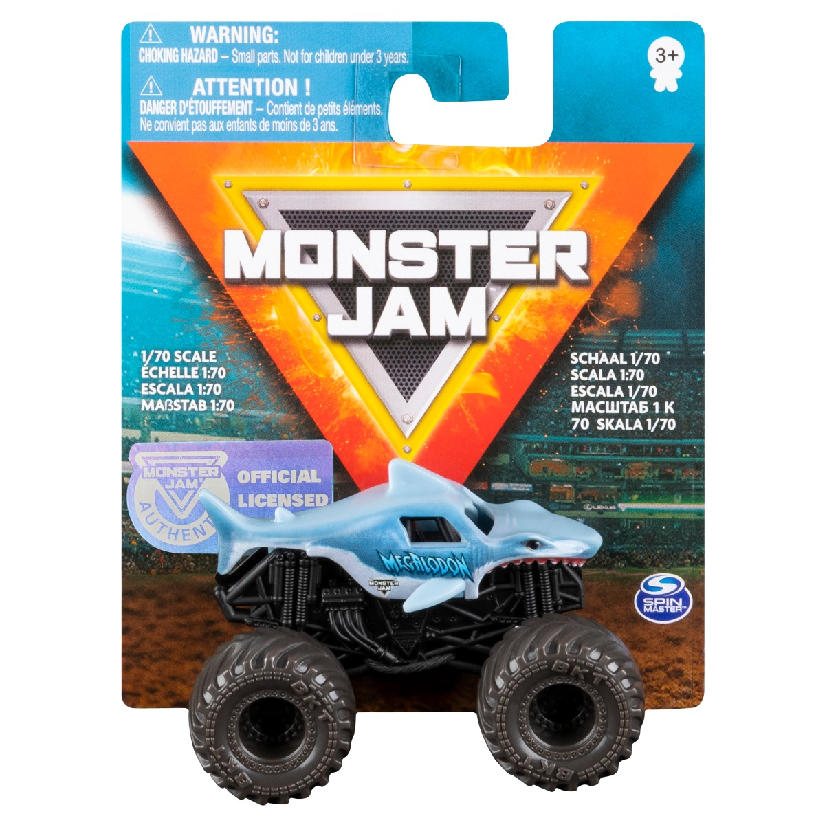 Masinuta Monster Jam, Megalodon Trucks, 20108580