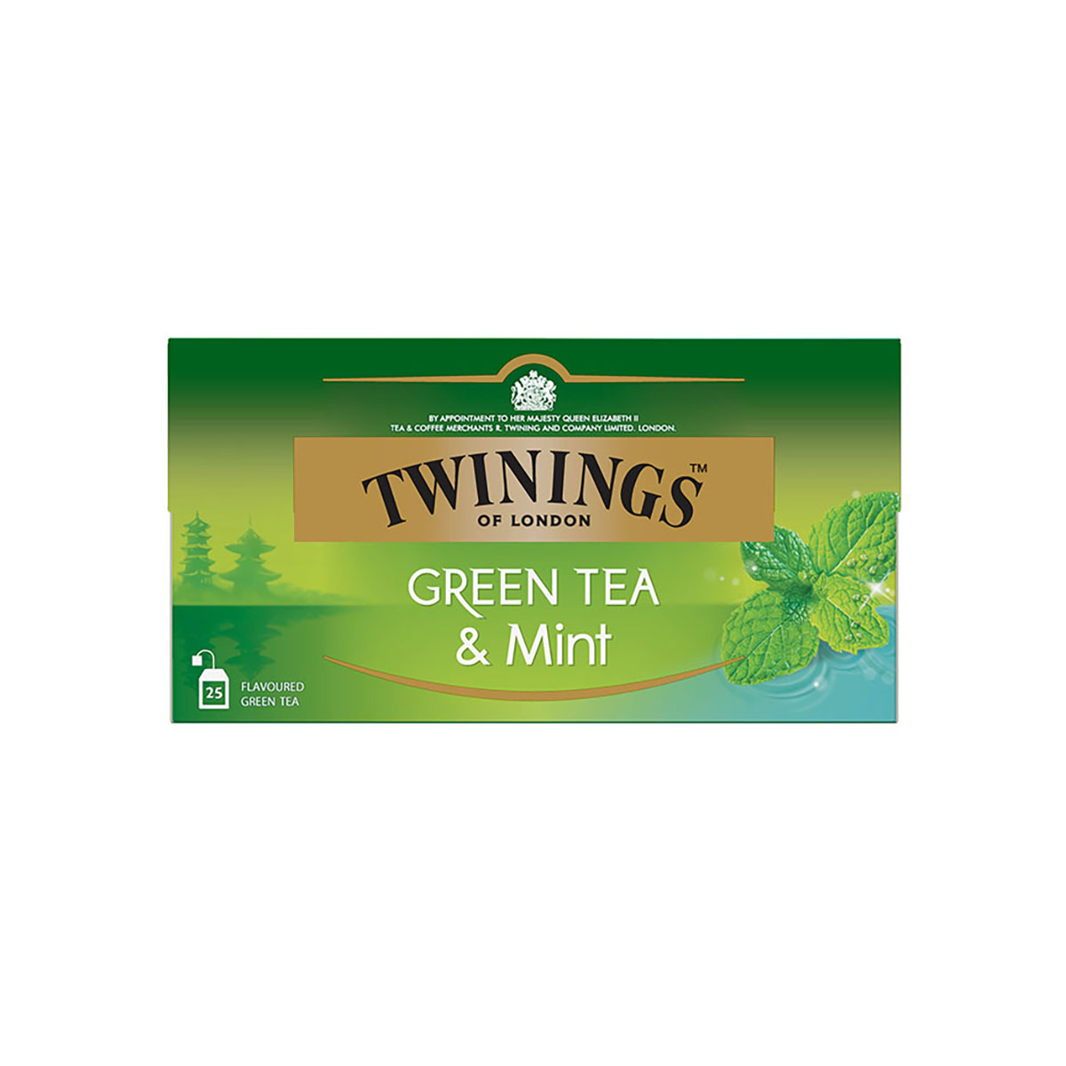 Ceai verde cu aroma menta Twinings, 25 x 1.5 g imagine