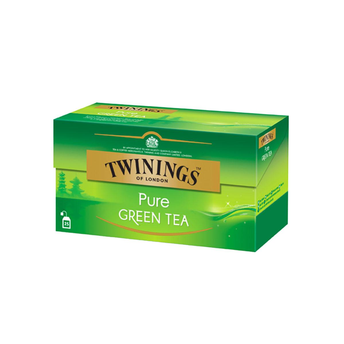 Ceai verde pur Twinings, 25 x 2 g imagine