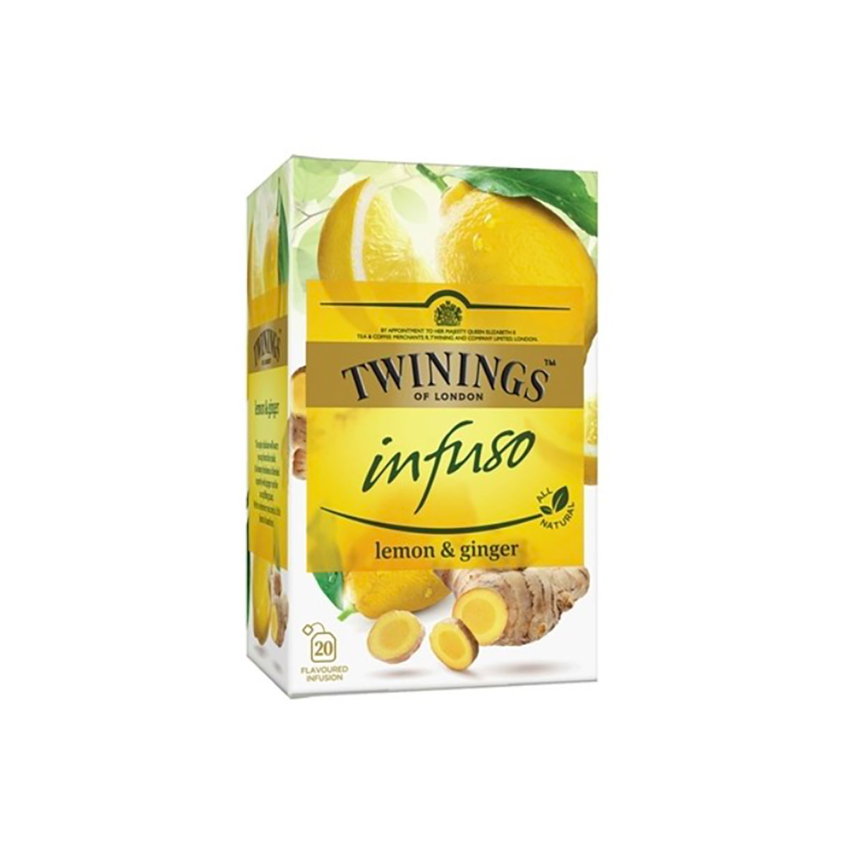Ceai infuzie Lamaie si Ghimbir Twinings, 20 x 1.5 g imagine