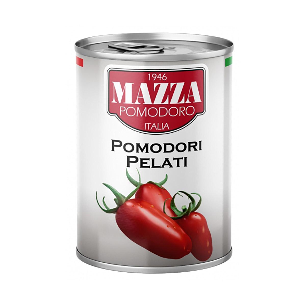 Rosii decojite Mazza, 400 g imagine