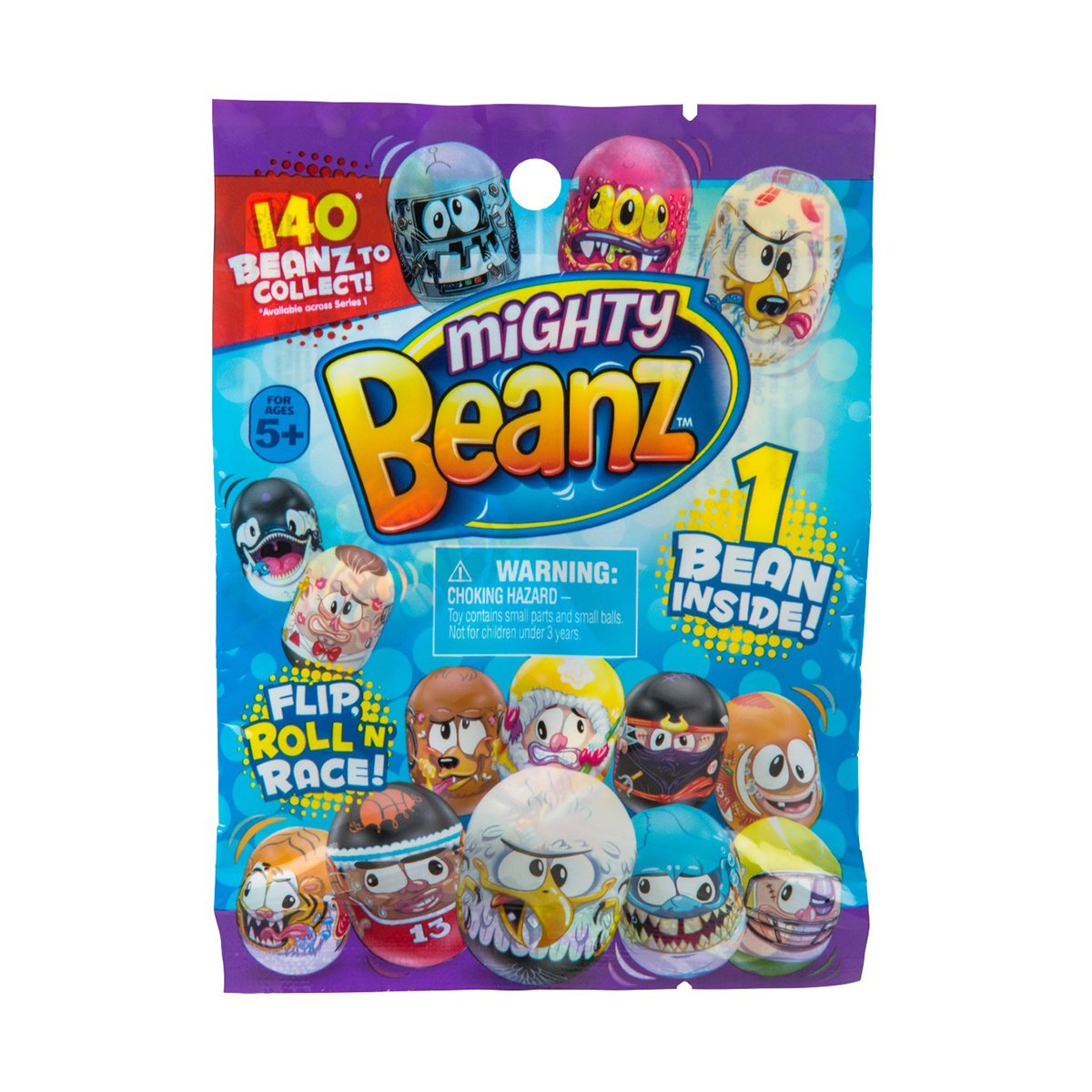 Figurina surpriza Mighty Beanz, S1