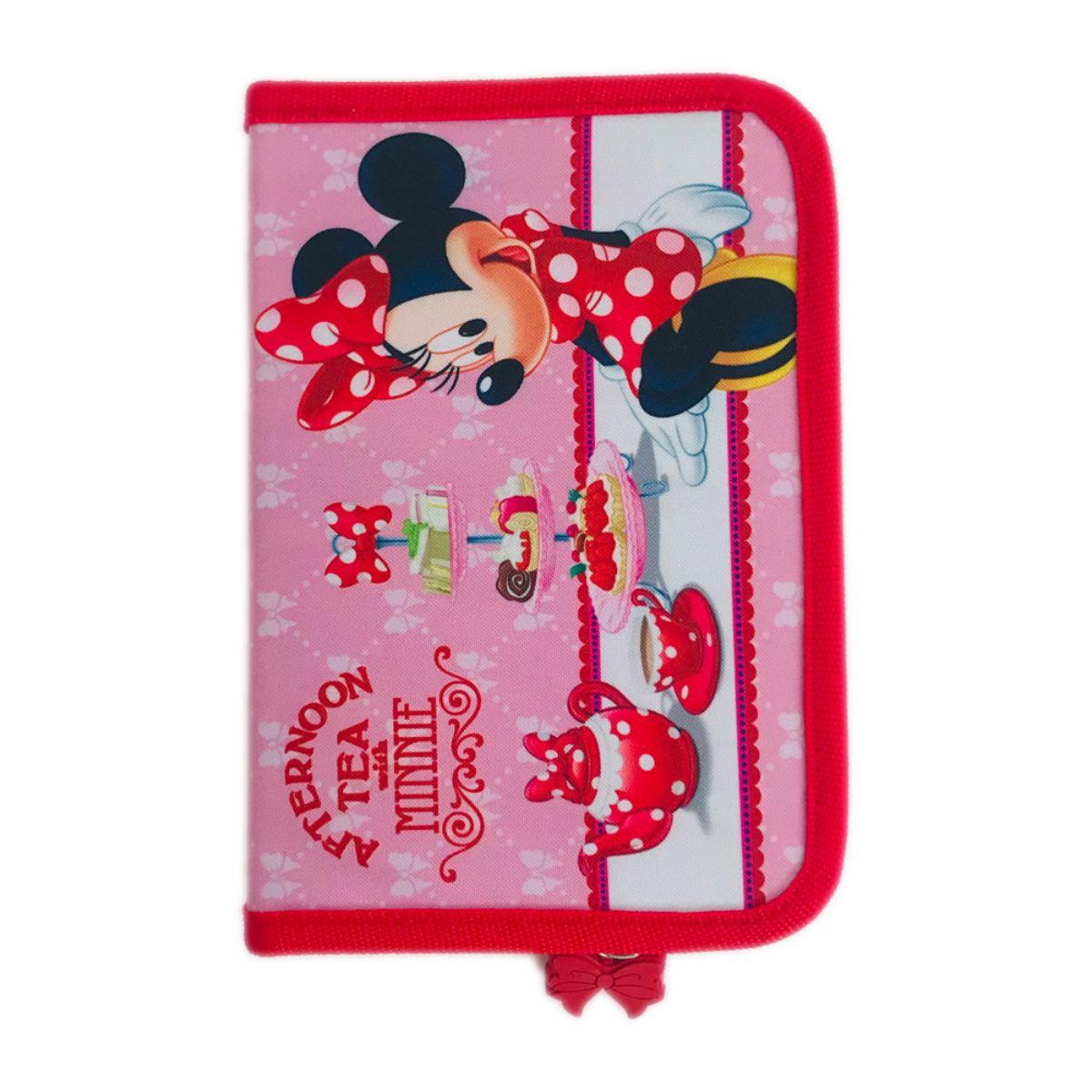 Penar Minnie Mouse cu fermoar si 2 flapsuri