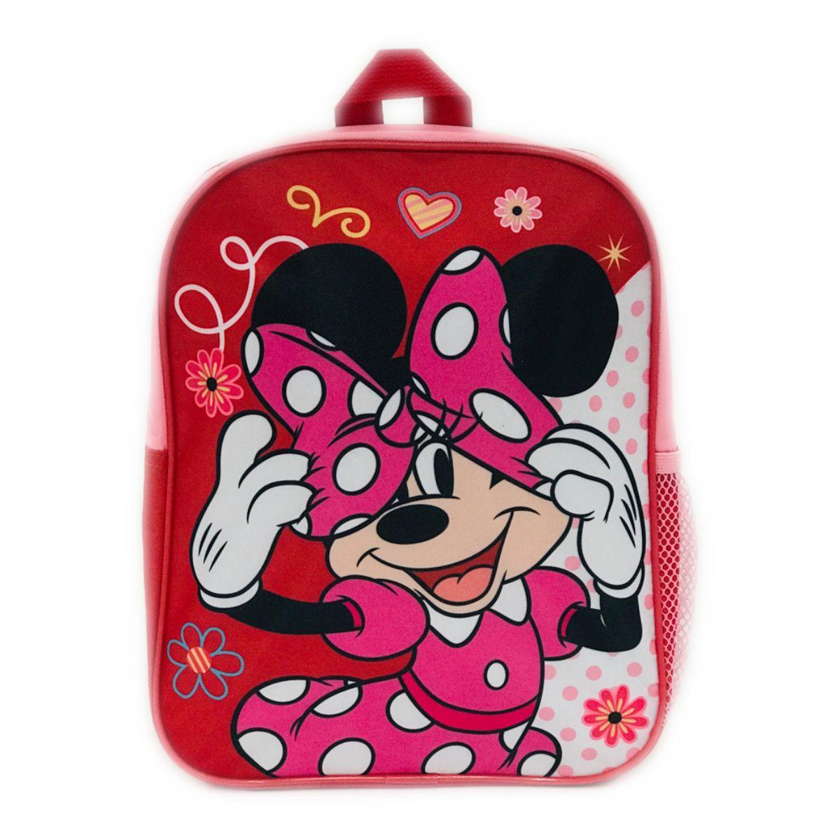 Ghiozdan mini Minnie Mouse, rosu