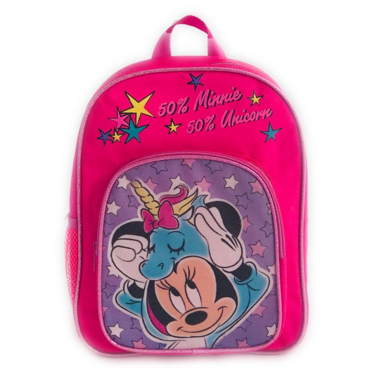 Ghiozdan mini Minnie Mouse 2 compartimente