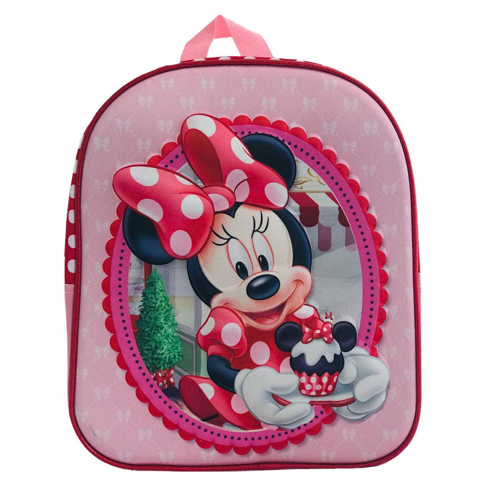 Ghiozdan mini 3D Minnie Mouse