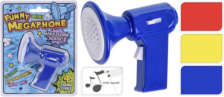 Mini Megafon cu sunete, 7 cm
