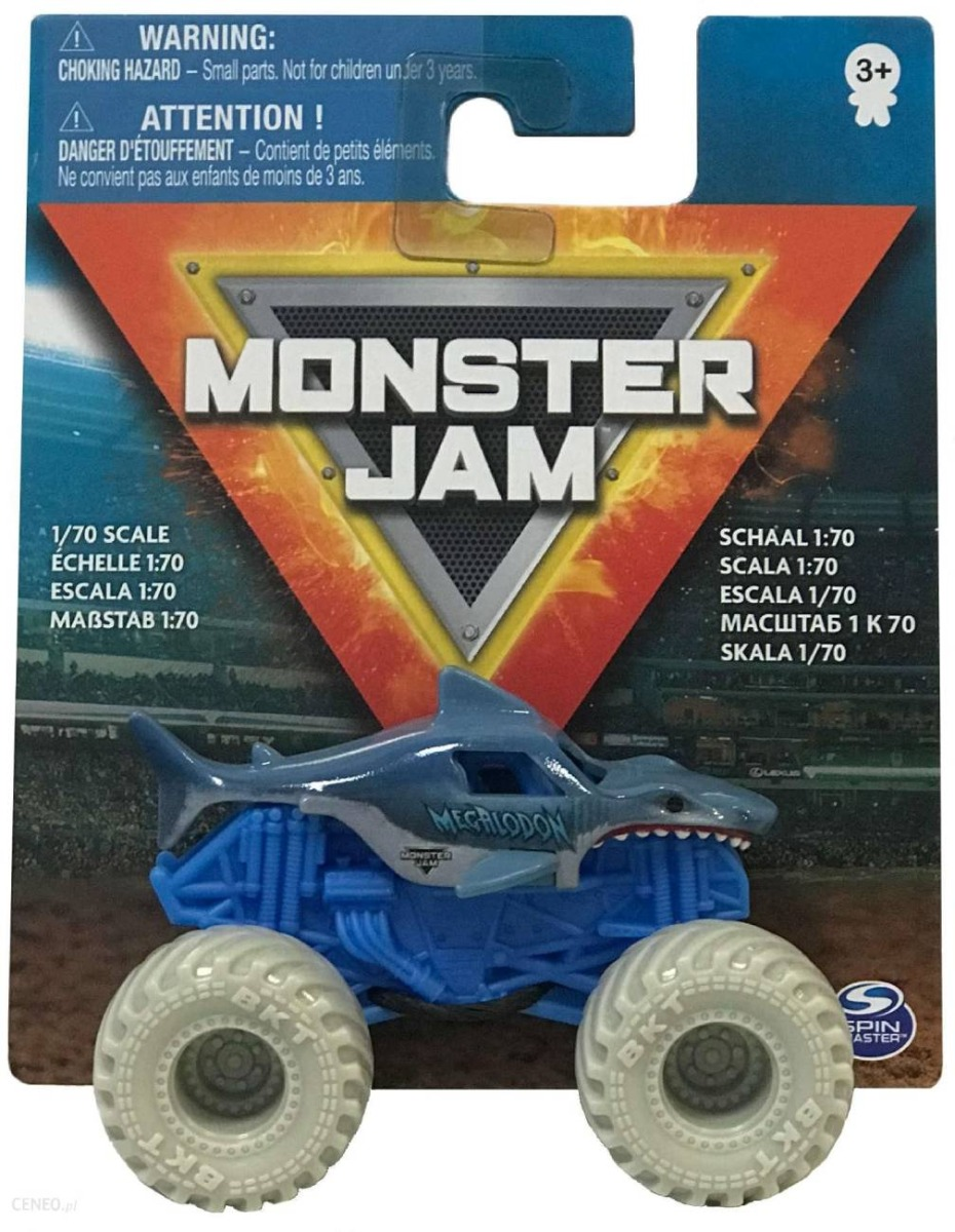 Masinuta Monster Jam 1:70, Megalodon, 20126428