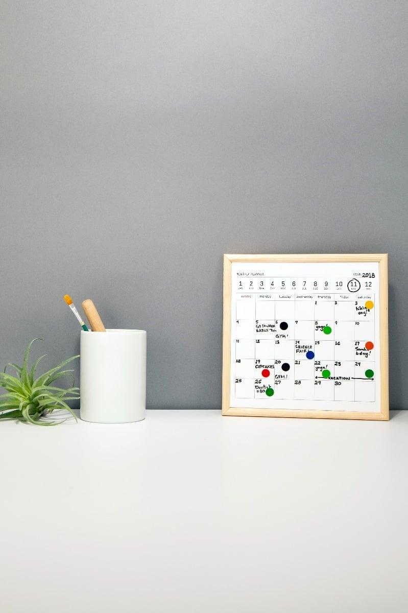 Planificator minicalendar - Tabla imagine