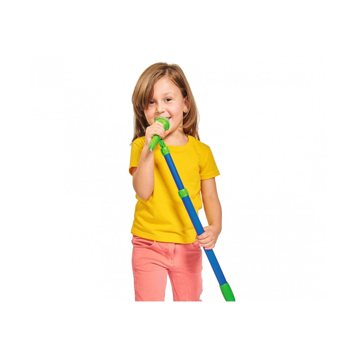 Microfon cu stand Simba, 80-120 cm