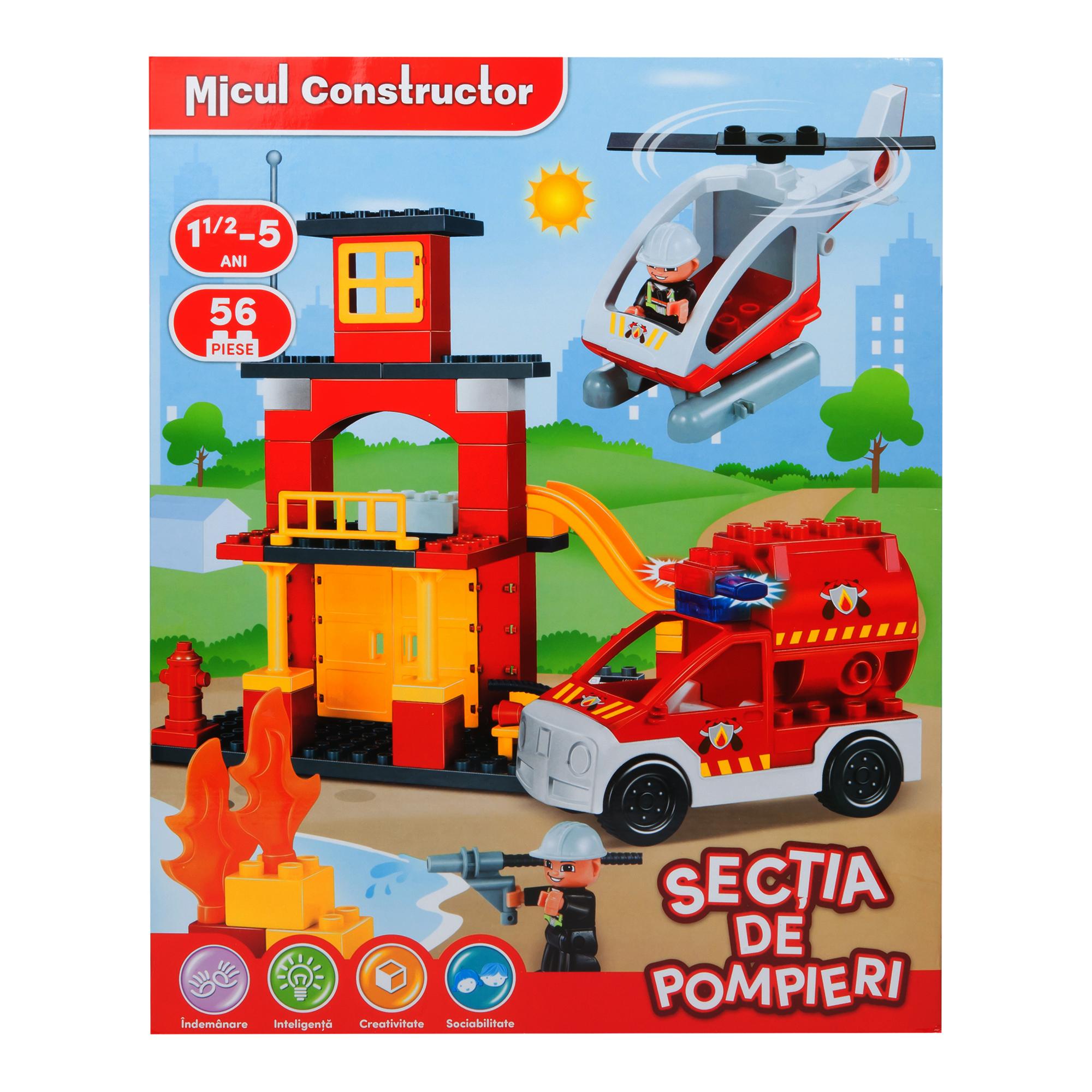 micul constructor - sectia de pompieri
