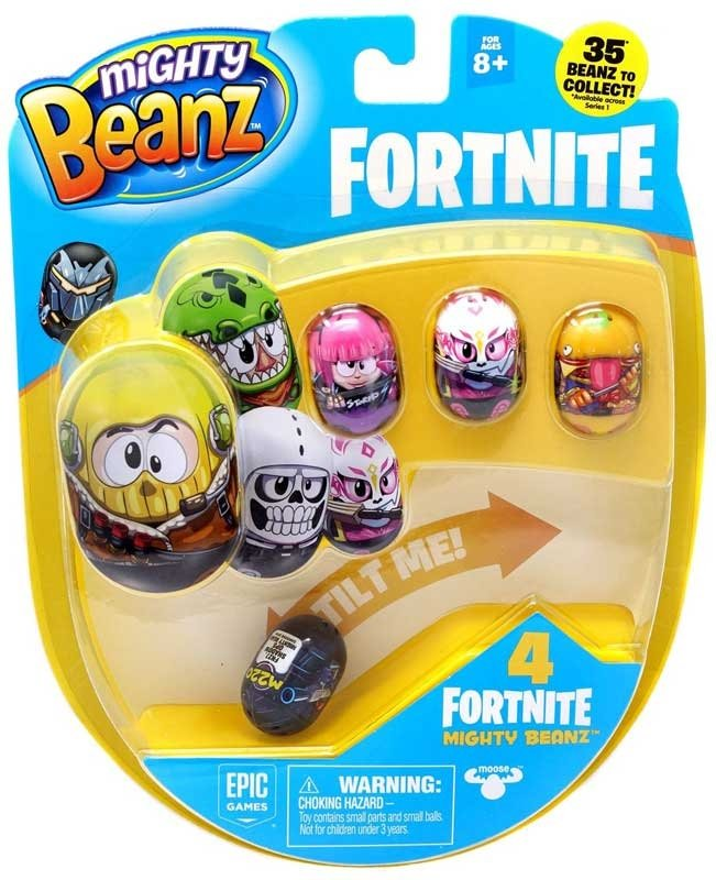 Set 4 figurine Mighty Beanz Fortnite, S1