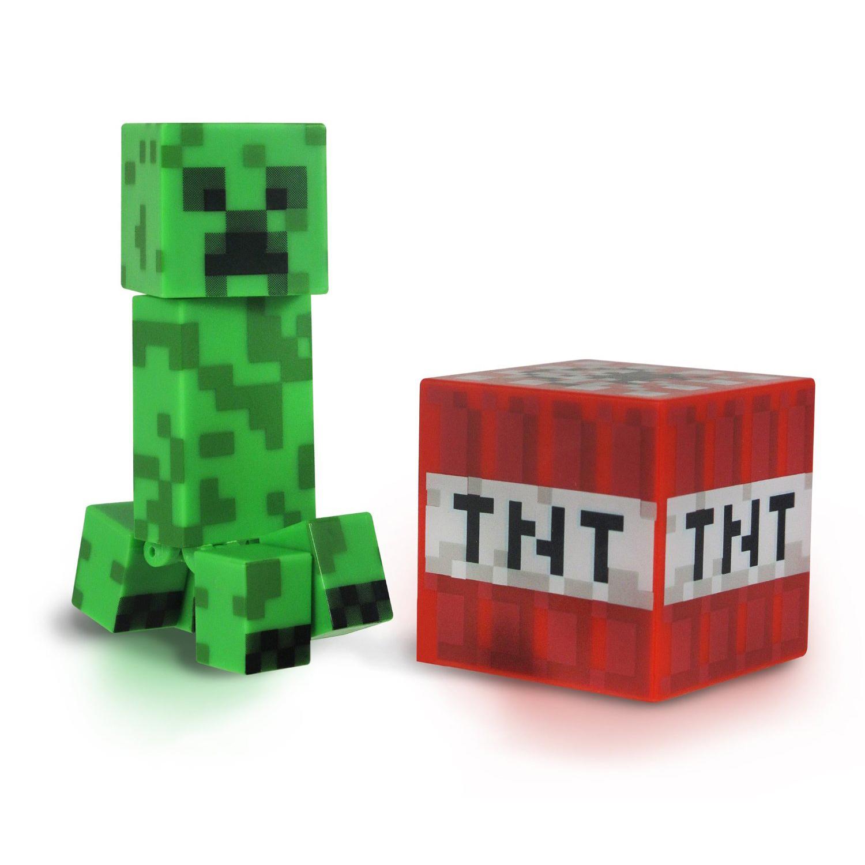 figurina articulata minecraft creeper, seria 1