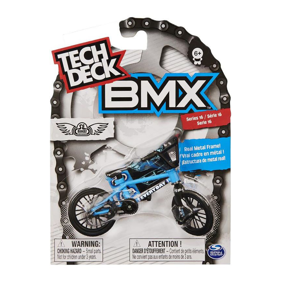 Mini BMX bike, Tech Deck, 16 SE, 20123470