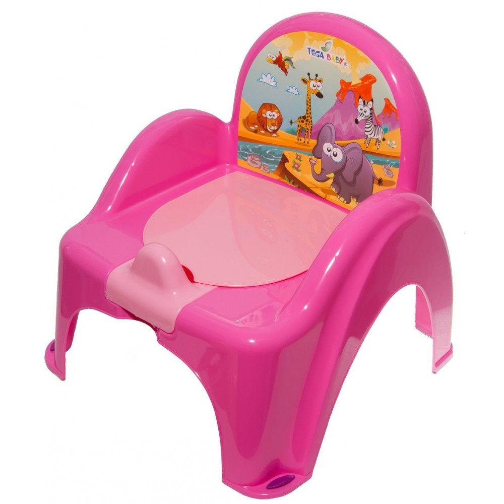 Mini toaleta Tega-Baby Safari, Roz imagine
