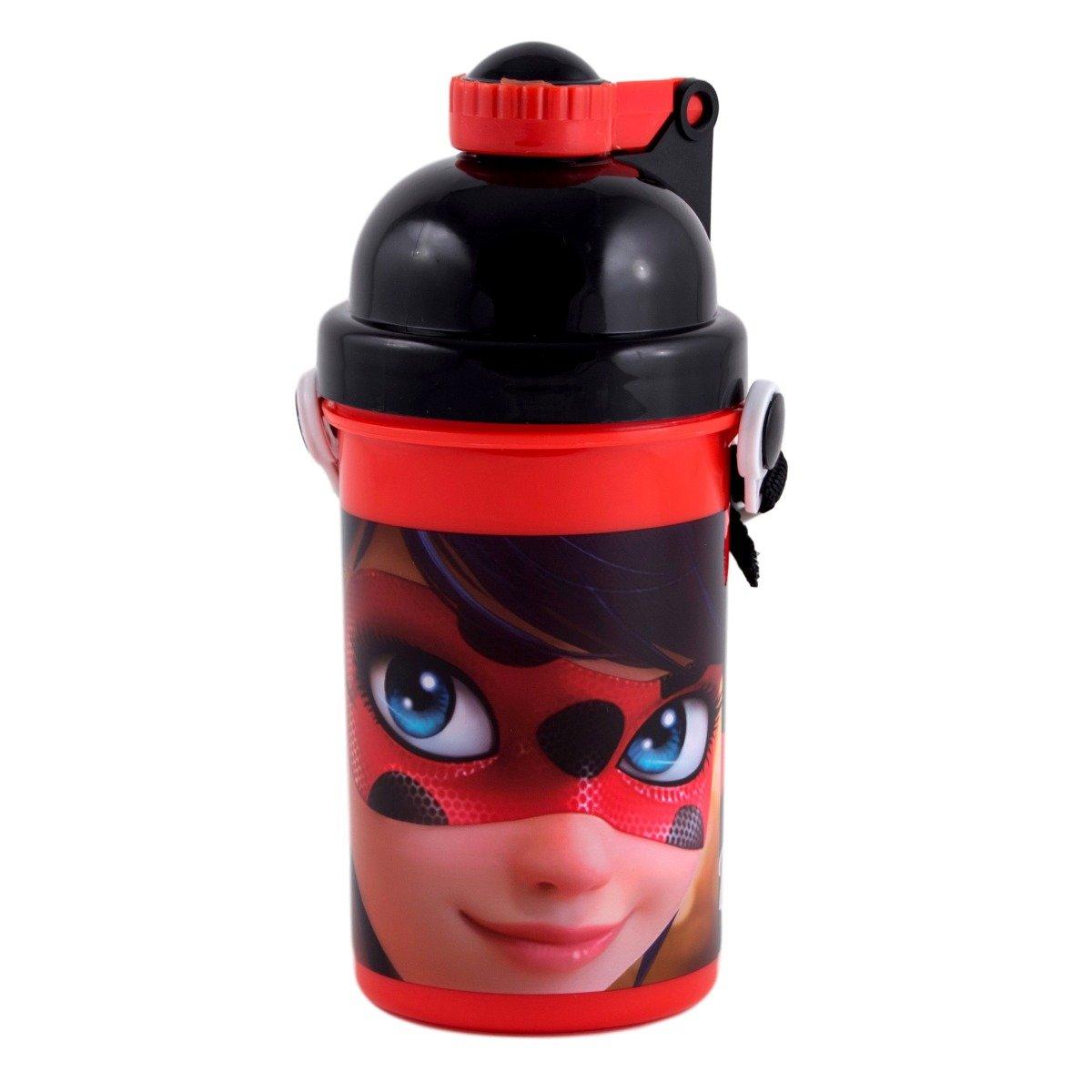 Termos din plastic Miraculous Ladybug imagine