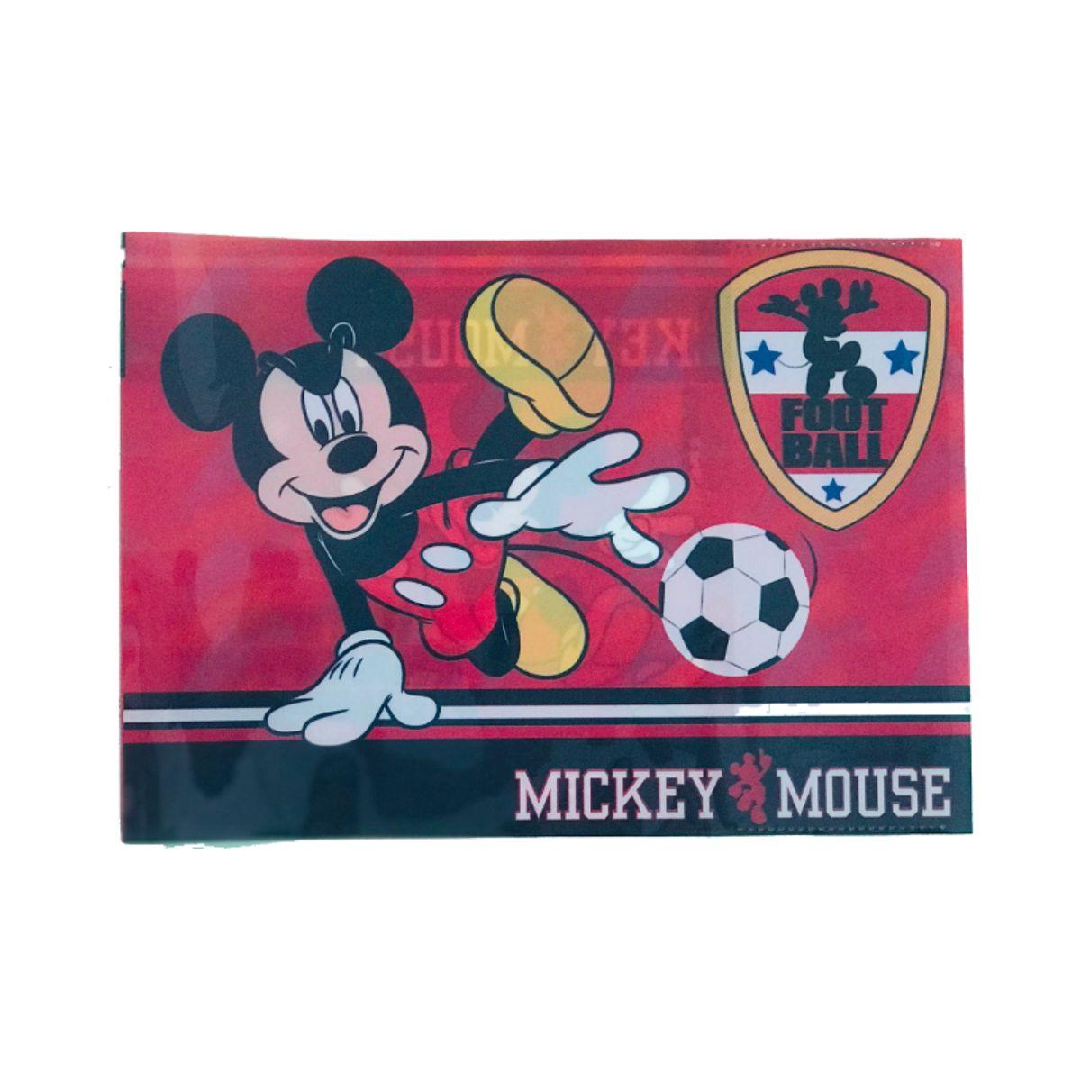 Coperta Mickey Mouse pentru caiet de muzica, biologie, geografie