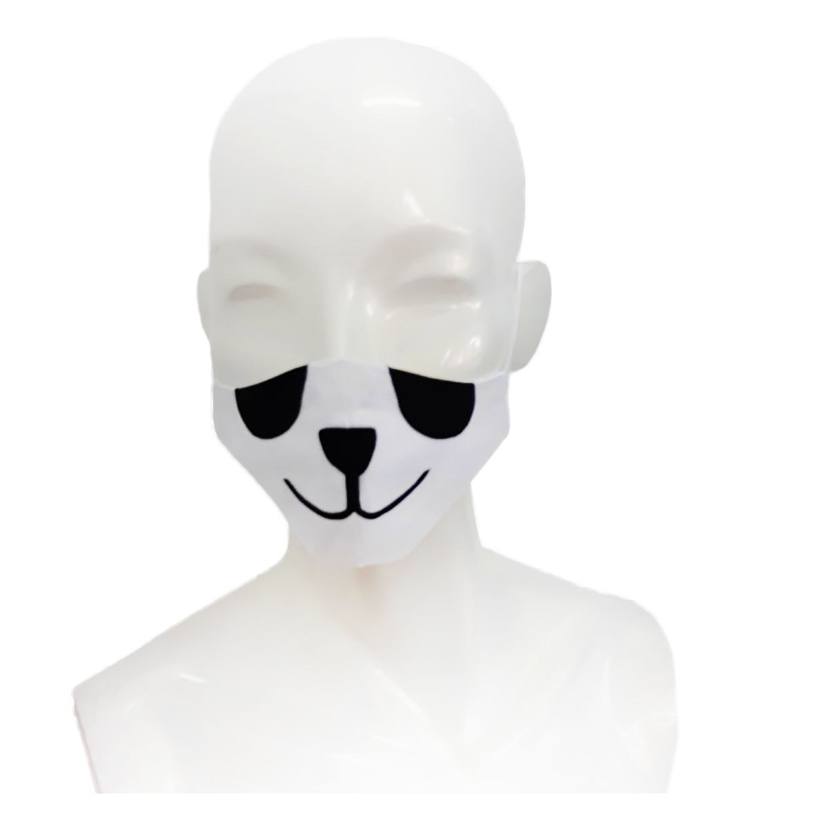 Masca de fata, copii 6-12 ani, forma anatomica, reutilizabila, Noriel, Panda imagine