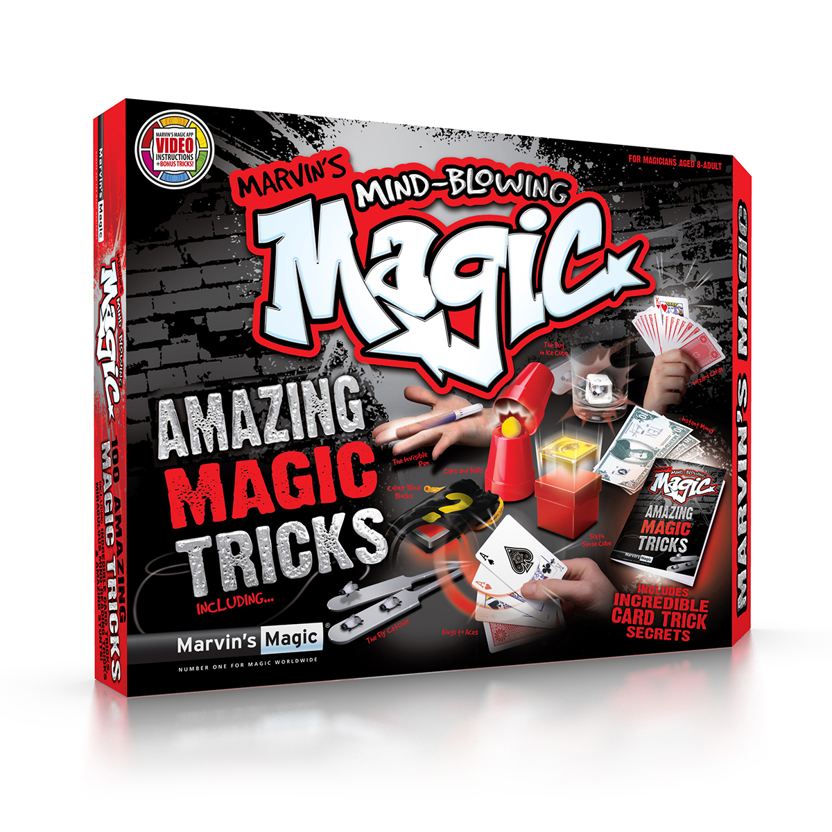Set de trucuri magice Marvin Magic