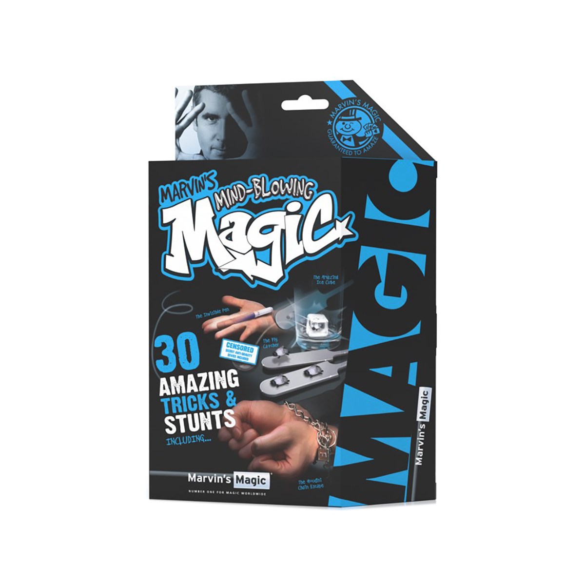 Set de magie Marvin's Magic - Tricks and Stunts - 30 trucuri si scamatorii uimitoare