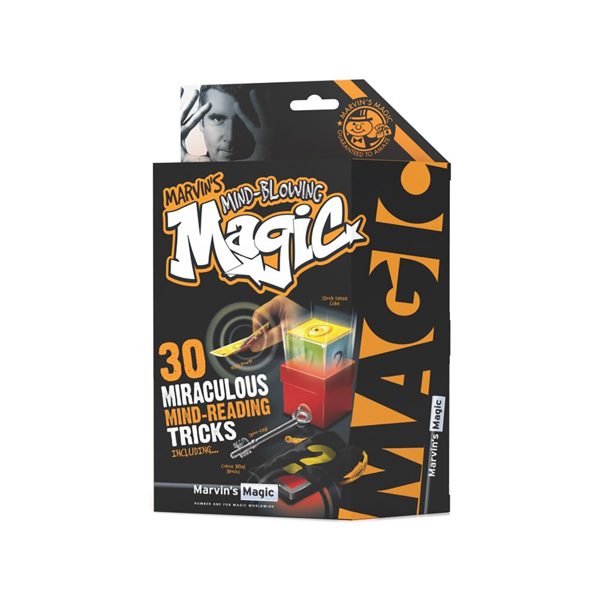 Set de magie Marvin's Magic - Ultimate Magic Mind - 30 trucuri de citire a mintii