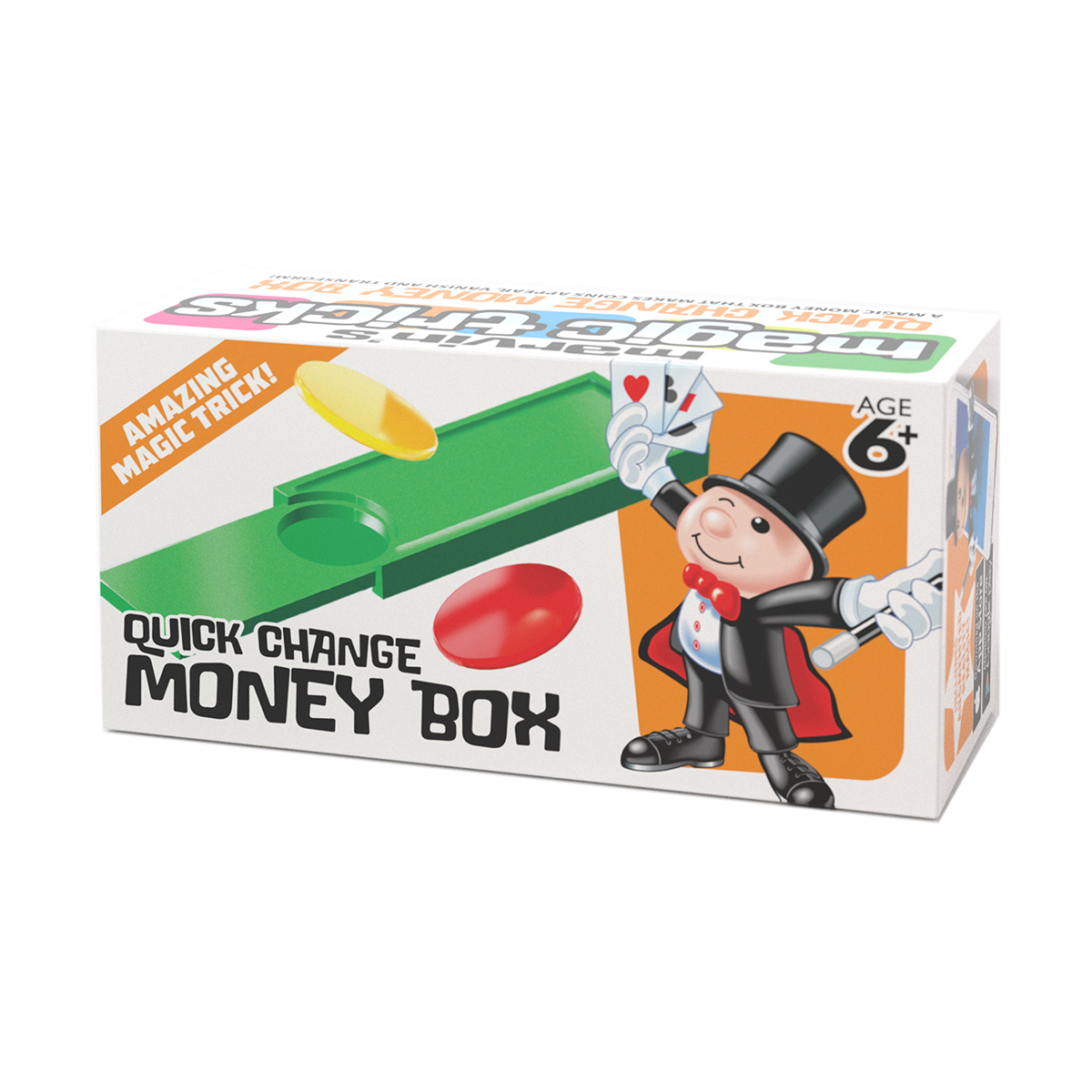 Caseta magica de bani Marvin's Magic - Quick Change Money Box