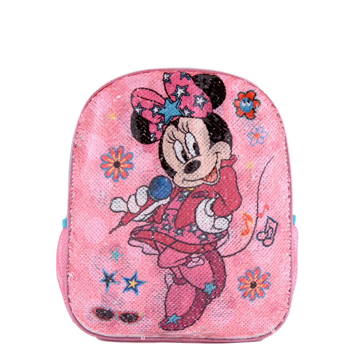 Ghiozdan cu paiete reversibile Disney Minnie Mouse