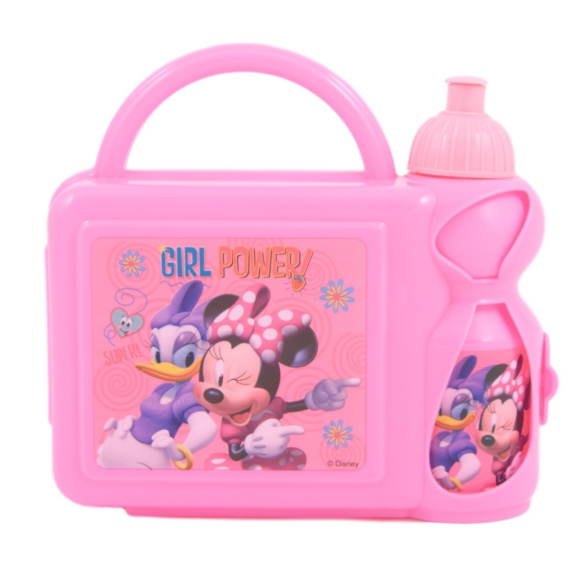 Set combo caserola si sticla apa Disney Minnie Mouse imagine
