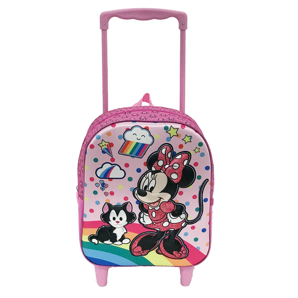 Ghiozdan tip troler Disney Minnie Mouse