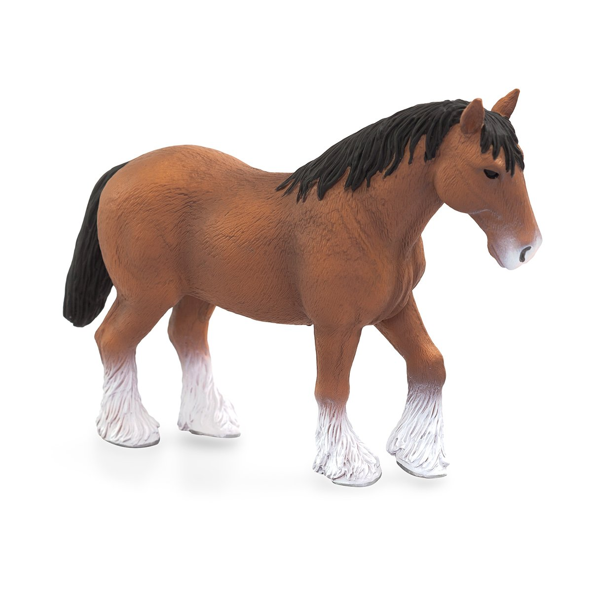 Figurina Mojo, Cal maro Clydesdale