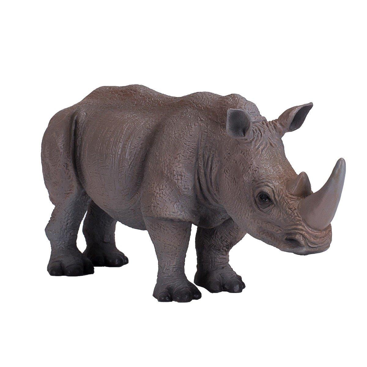 Figurina Mojo, Rinocer, Alb