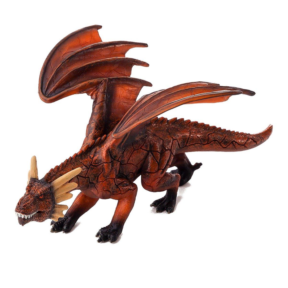 Figurina Mojo, Dragonul de foc cu mandibula articulata