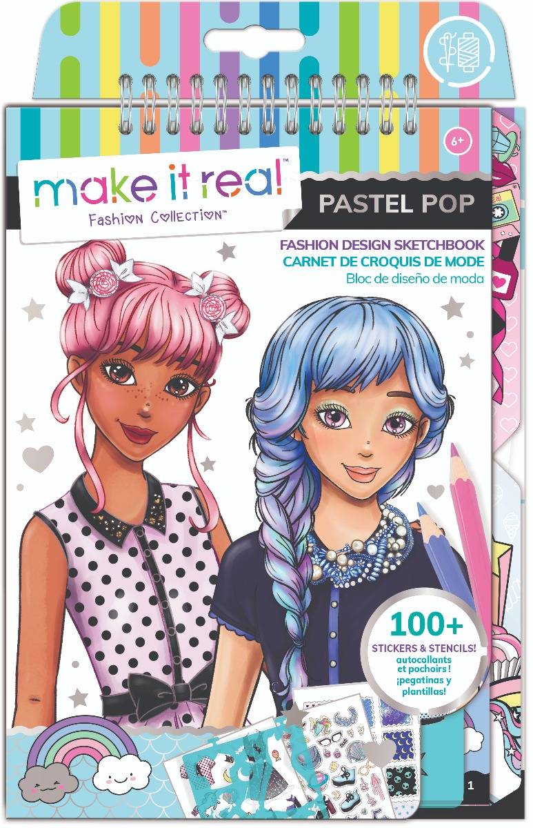 Caietul designerului, Make It Real - Pastel Pop