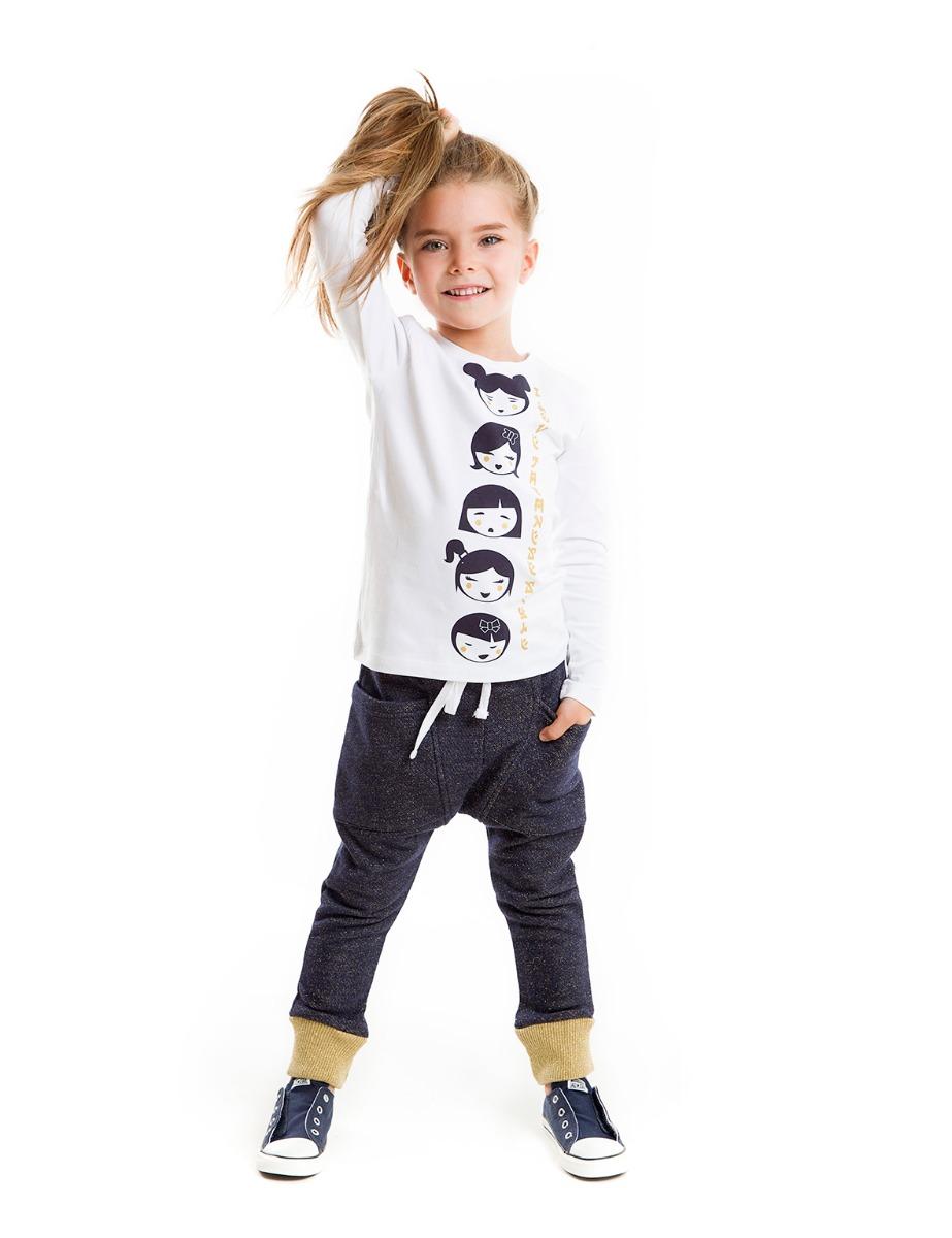Set bluza cu imprimeu si pantaloni sport Japan Mushi imagine
