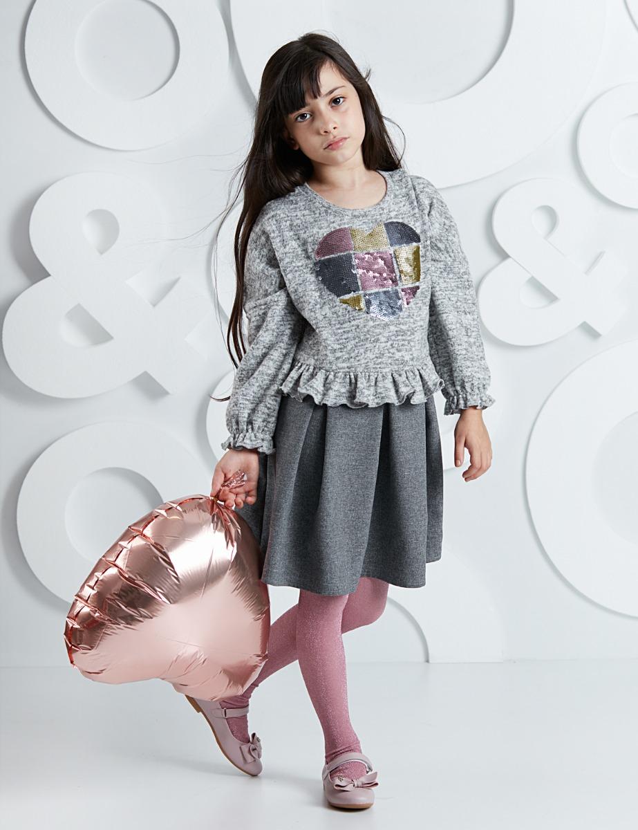 Rochie cu top tricotat Heart Mushi imagine
