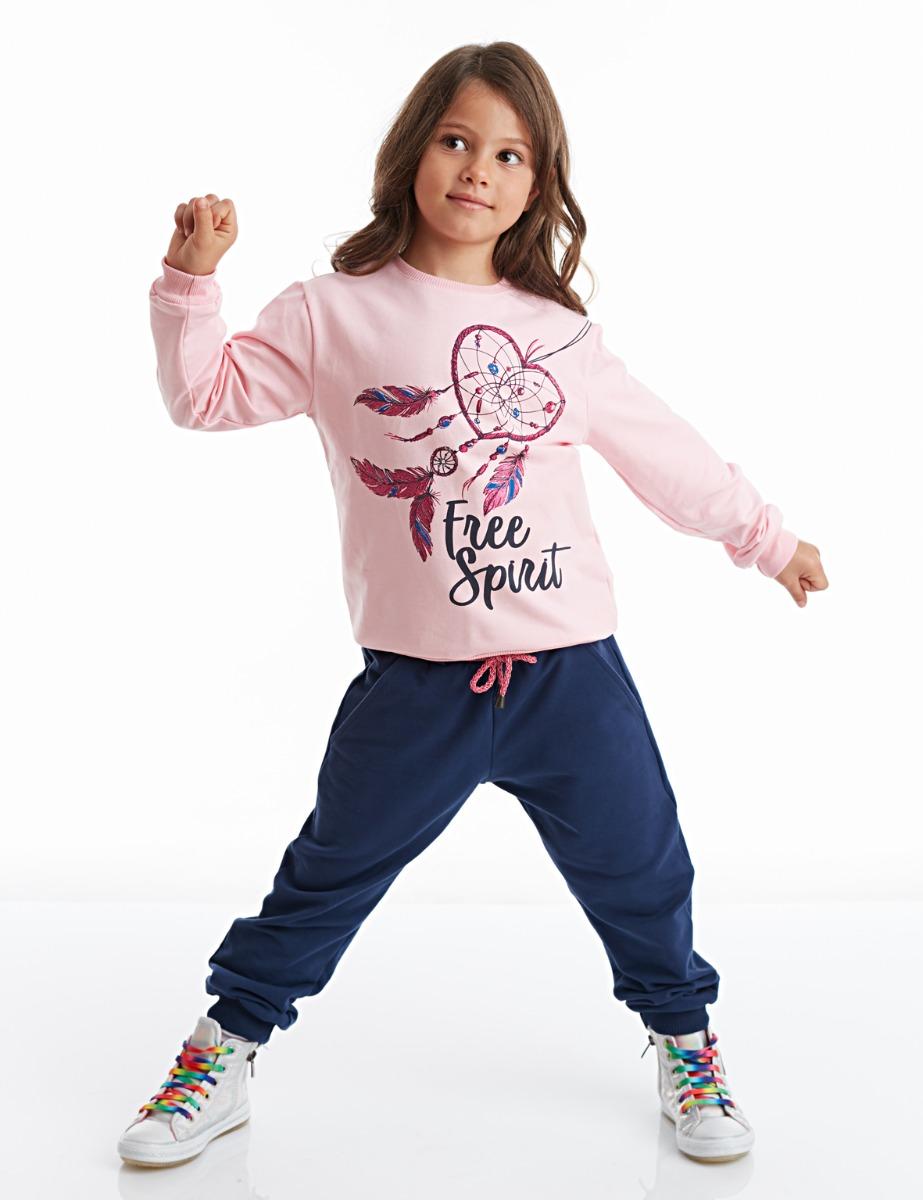 Set bluza si pantaloni sport Free Spirit Mushi imagine