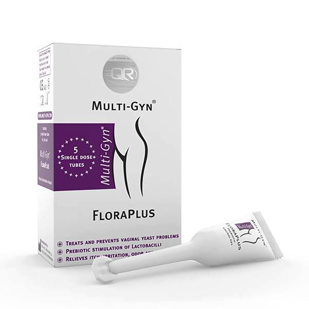 Flora Plus Multi-Gyn impotriva candidozei, 5 tuburi x 50 ml imagine
