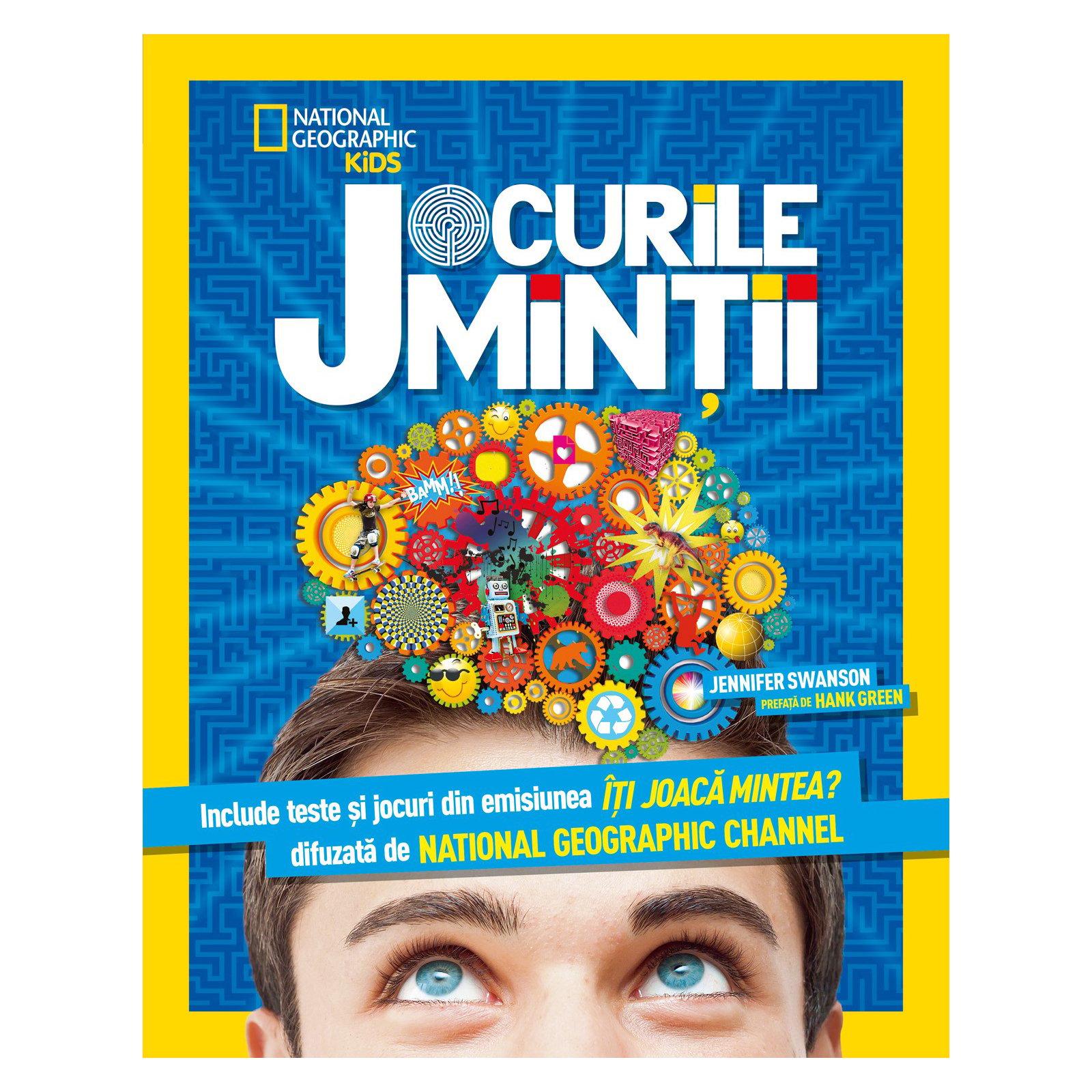 national geographic kids - jocurile mintii