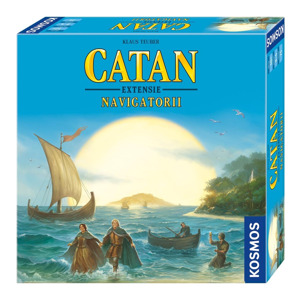 Joc Catan - Navigatorii, Editie noua 2015, Extensie, 3-4 Jucatori