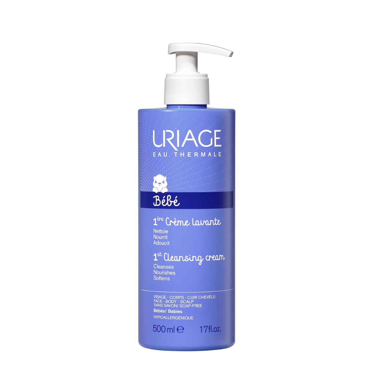 Crema de curatare Uriage 1ER Bebe, 500 ml