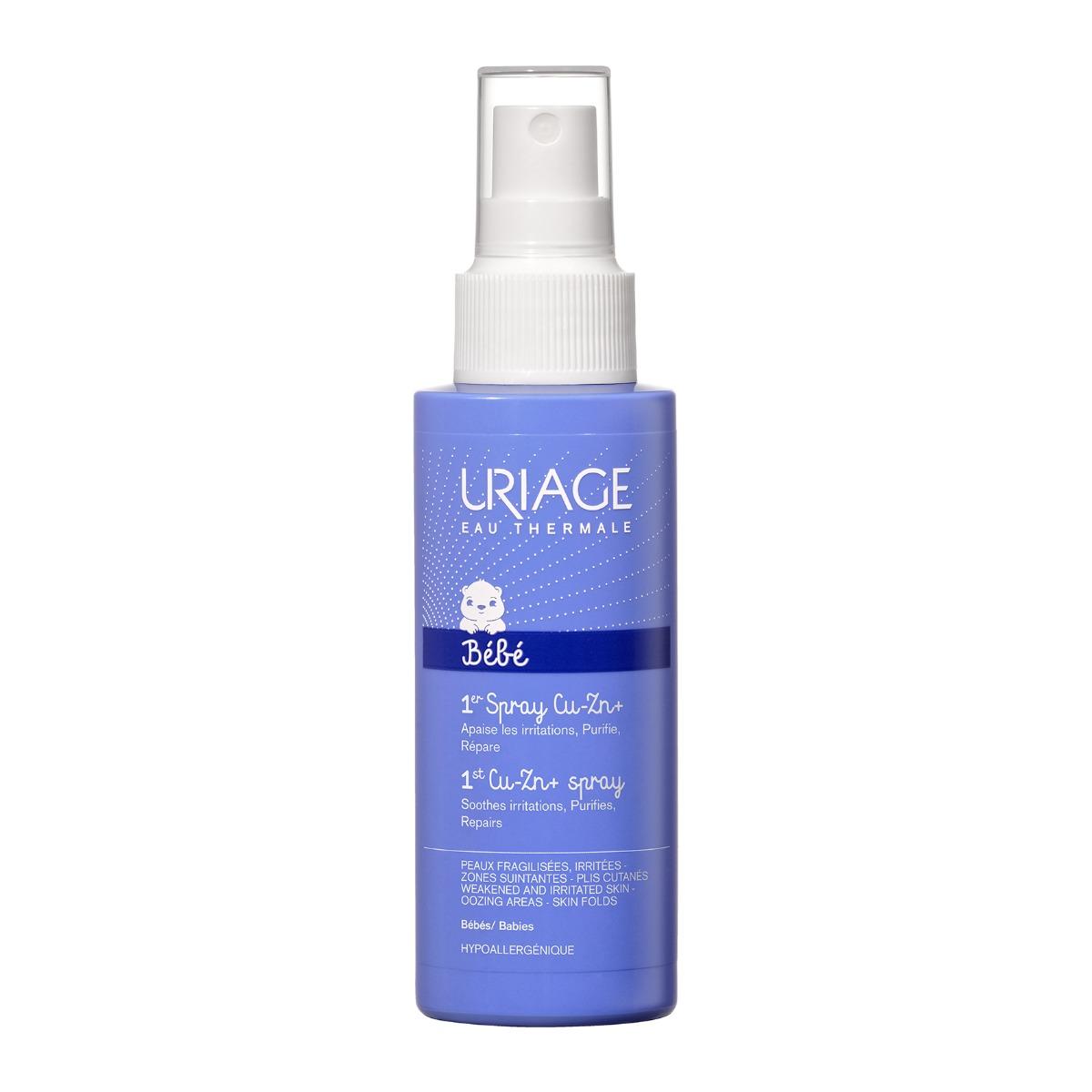 Spray Anti-iritatii cu Zn Uriage 1ER Bebe, 100 ml