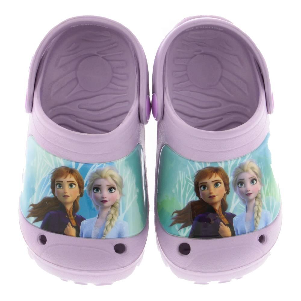 Papuci cu imprimeu Frozen, mov