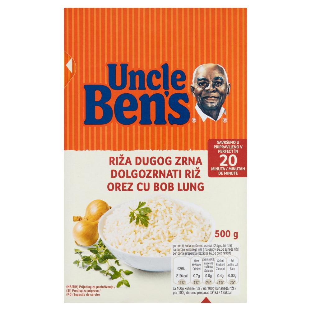 Orez cu bob lung Uncle Ben's, 500 g imagine