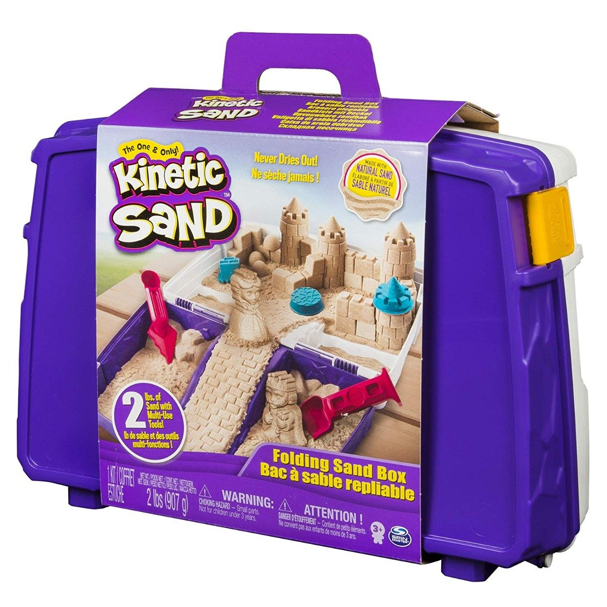 Set nisip si accesorii Kinetic Sand, 900 g