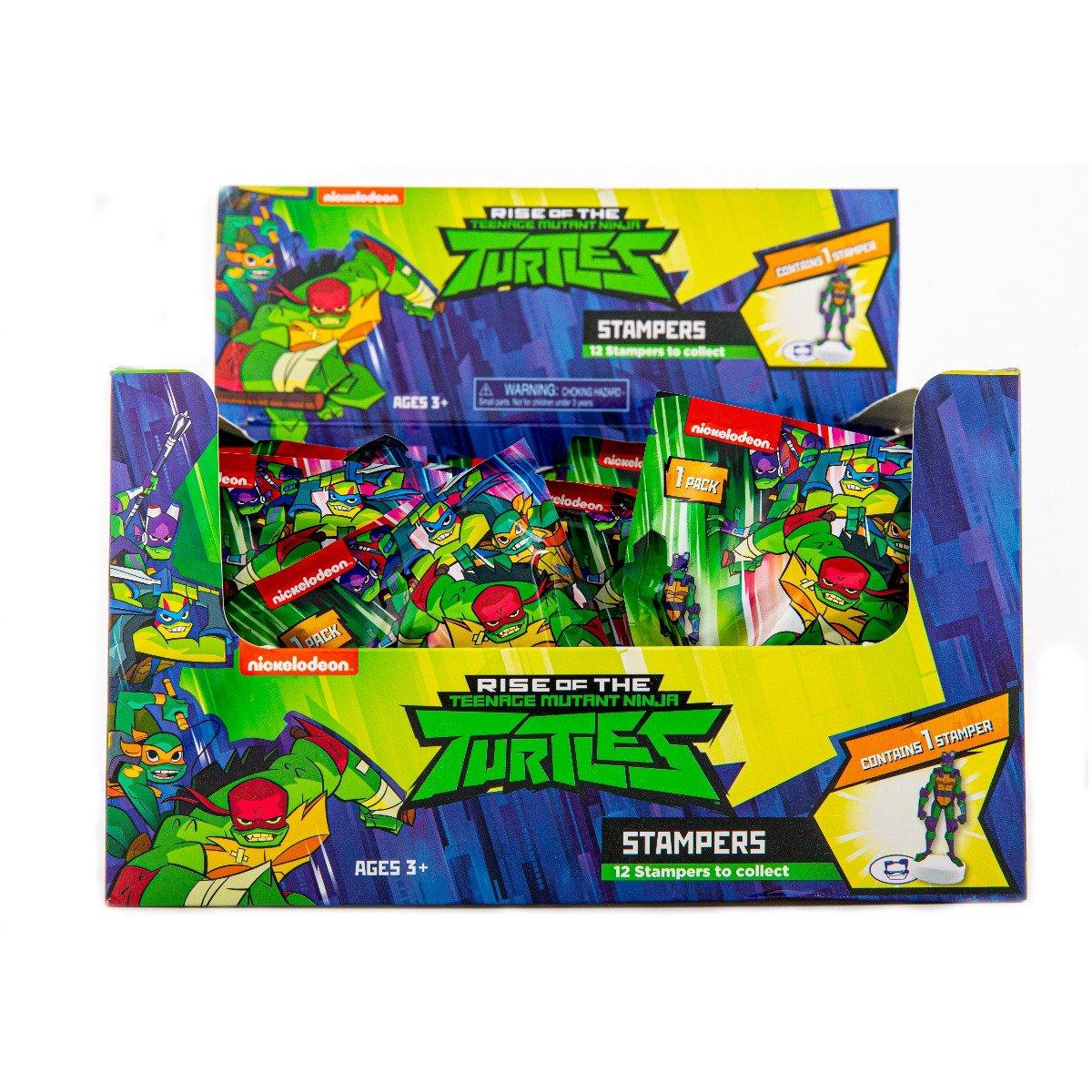 Stampila surpriza Testoasele Ninja S1 imagine