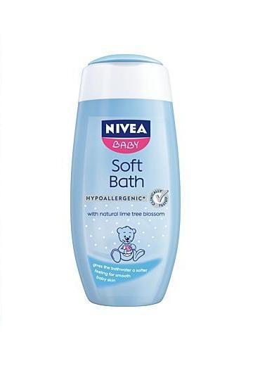 crema de baie nivea baby